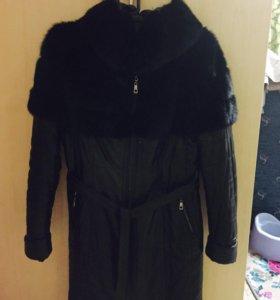 Продам куртку зима оделкой норки делается желеткой