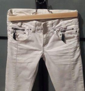 Бриджи джинсовые, рост134