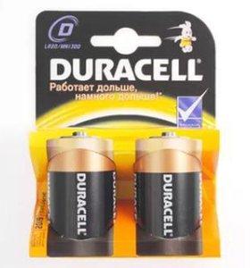 Батарейки Duracell LR 20