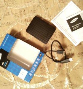 Жесткий диск Samsung M3 Portable на 1ТВ, USB 3.0