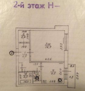 Квартира, 36.1 м2