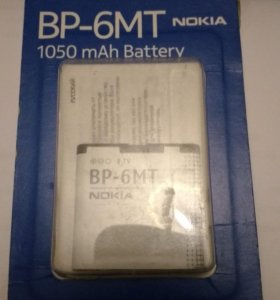 Акб Nokia BP-6MT 1050 mah