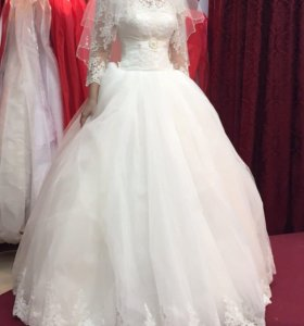 Новое свадебное платье для шикарной невесты