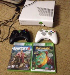 Приставка Xbox360+31 игра