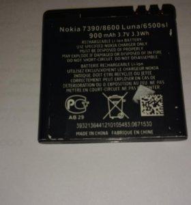 Акб неориг. для Nokia 7390/8600Luna/6500 slider
