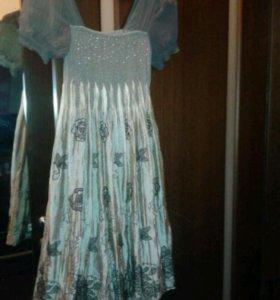 Новое красивое платье р.46-48