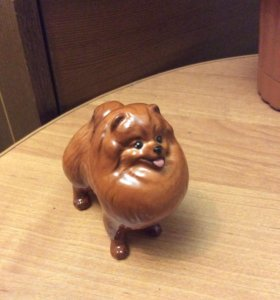 статуэтка фарфоровая собака