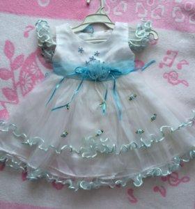 Новогоднее платье 62 р-р