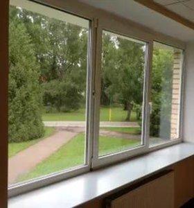 Ремонт и замена утеплителей на окнах.