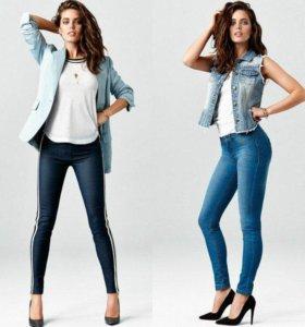 Леггинцы-джинсы