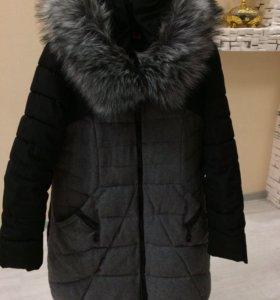 Куртка пуховик,зима 46-48