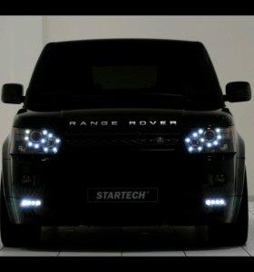 В аренду range rover sport с водителем.