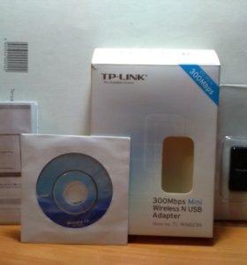 Приёмник wifi Tp-link tl-wn823n
