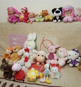 Мягкие игрушки в ассортименте