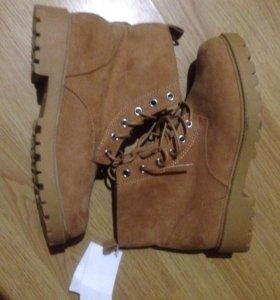 Продаю новые зимние ботинки H&M