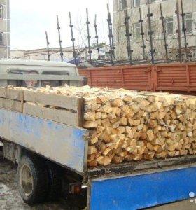 Берёзовые дрова колотые