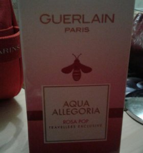 Gurlain Aqua allegoria rosa pop туалетная вода 100