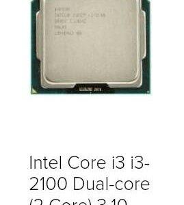 Процессор intel core i3 3,10ghz