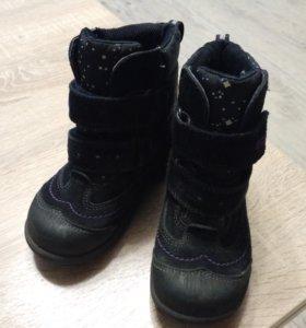 ECCO демисезонные ботинки