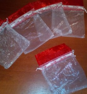 Прозрачные подарочные мешочки