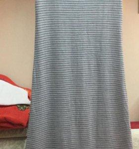 Вязанное платье безрукавка