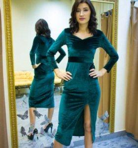 Платье новое, велюр