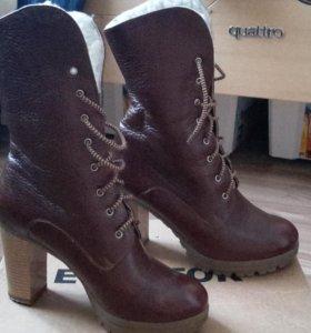 Зимние стильные ботиночки