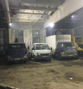 Сдаются тёплые помещения под авто