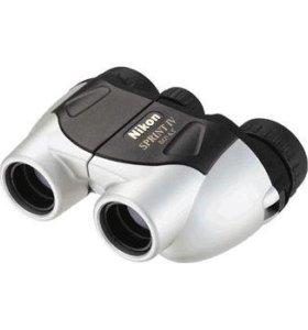 Бинокль Nikon 8x21 Sprint IV silver