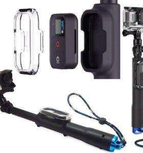 Монопод телескопический для GoPro с креплением Д/У