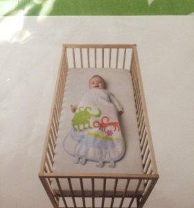 Спальный мешок для детей от 0-6 мес
