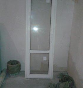 Окно+ дверь металло-пластиковые