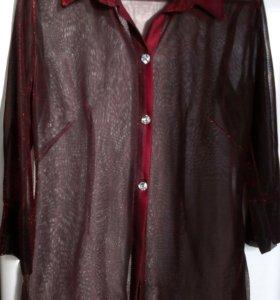 Туника-рубашка 46р.