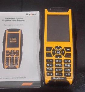 Пылевлагозащищённый телефон RugGear P 860