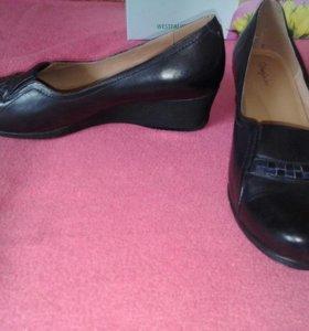 Туфли Вестфалика. Натуральная кожа. 41 размер.