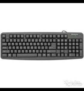 Клавиатура Defender Element HB-520, цвет-черный