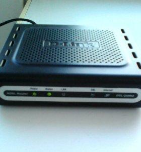 Продам Adsl роутер D-Link DSL 2500U