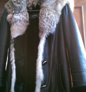 Куртка  женская Зимняя( шакал)100% овчина