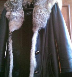 Куртка  женская Зима( шакал)100% овчина