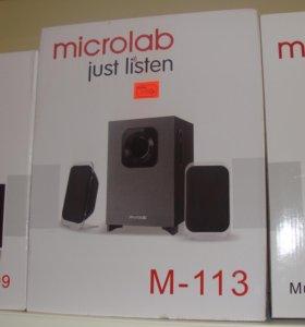 Колонки новые Microlab M-113