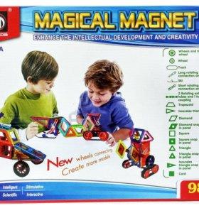 Магнитный конструктор 98 деталей