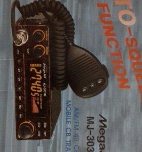 Автомобильная радиостанция MegaJet MJ 3031M