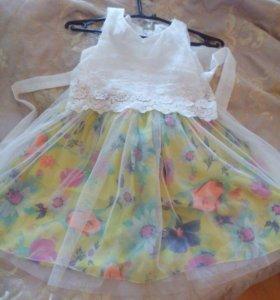 2 платья и юбка