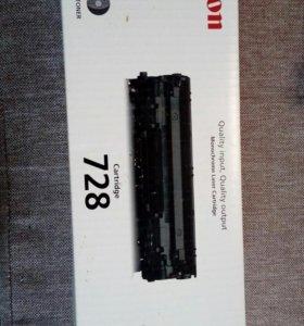 Продаю оригинальный катридж Canon 728