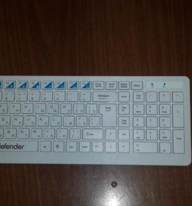 Беспроводной набор:клавиатура и мышка