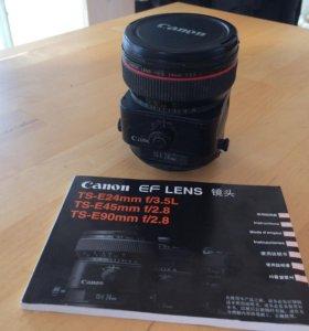 Объектив Canon TS-E24mm f/3.5L