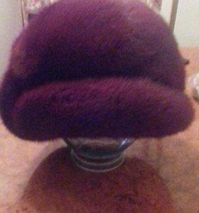 Продам шапку из меха норки