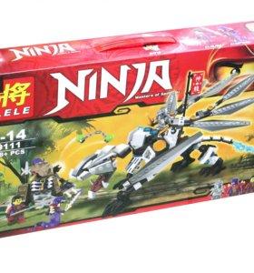 Игровой конструктор NINJA на 378 деталей!
