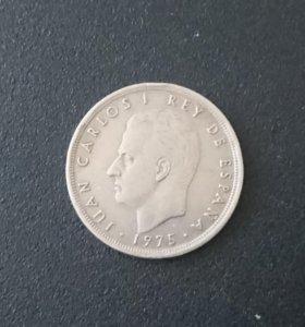 Монета Испании.