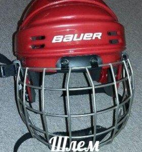 Новый Хоккейный шлем  (детский )
